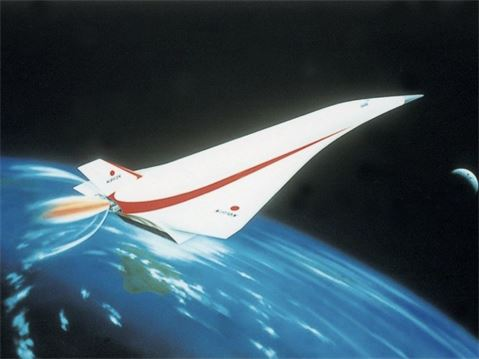 Pacific Express  Hypersonic Vehicle powered by Scram/LACE